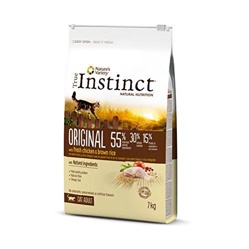 True Instinct Original – Nature's Variety – Pienso para Gato Adulto con Pollo – 7kg