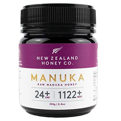 New Zealand Honey Co. Manuka Honig MGO 1122+ / UMF 24+ | Aktiv und Roh | Hergestellt in Neuseeland | 250g