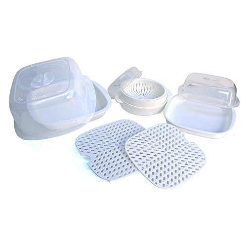 Microwave Cooking Set - 9 Piece...