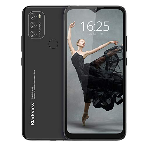 Android 11 Smartphone Libre(2021), Blackview A70 Teléfono Móvil Octa-Core 3GB + 32GB Pantalla Waterdrop HD+ 6.517 '', Cámara Triple 13MP Movil Barato Batería 5380mAh Dual SIM...
