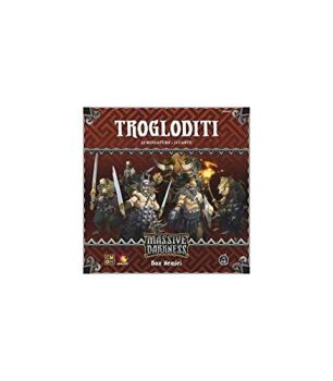 Asmodee - Massive Darkness Troglodytes Expansion Board Game, Multicoloured, 10101