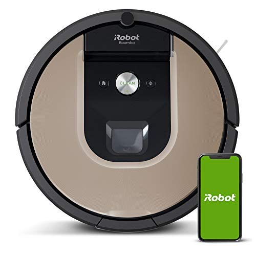 iRobot Roomba 966- Robot aspirador con Wi-Fi, dos cepillos de...