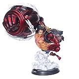 anime figurine Anime One Piece Monkey D Luffy Gear 4 Hole Gun Gk Pvc Action Figure Statue Statue Modèle Poupée Cadeau 39 Cm Modèle d'anime de la Main