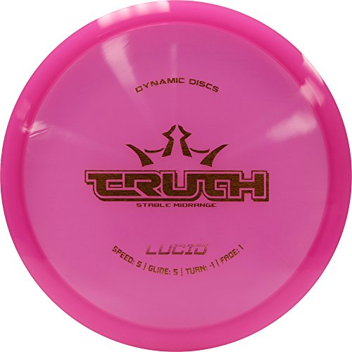 Dynamic Discs Truth Stable Midrange Disc Golf - Lucid - for Beginners and World Champions - Colors May Vary