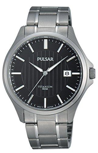 Pulsar Herren-Armbanduhr Analog Quarz Titan PS9431X1