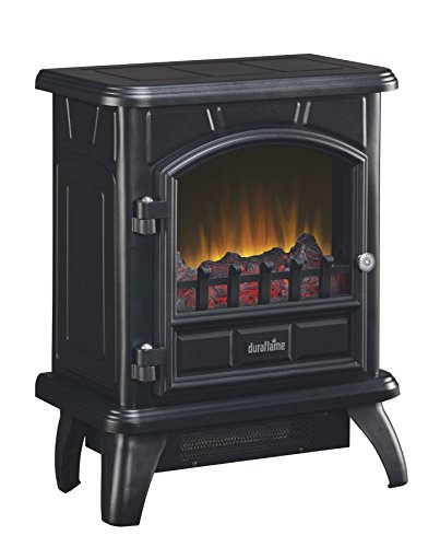 Duraflame DFS-500-0 Thomas Electric Stove with Heater, Black