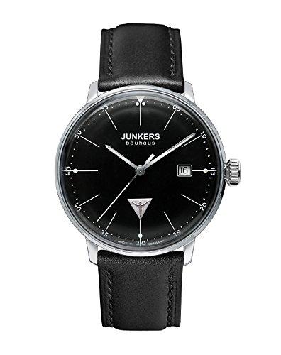 Junkers Herrenuhr Analog Quarz mit Lederarmband – 60702