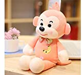 HYSLYQ Juguetes De Peluche Cute Kawaii Monkey Doll Soft Pillow Monkey Stuffed Animal Best Gift For Child Boy Girlfriend 30Cm