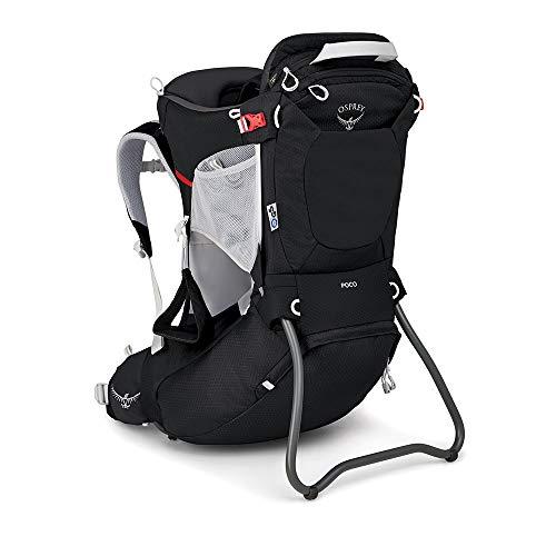 Osprey Poco - Porte-bébé de randonnée unisexe - Starry Black O/S