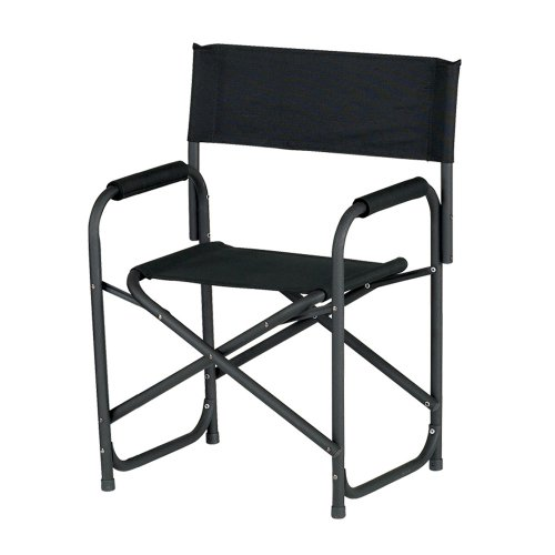 E-Z UP Directors Chair, Standard Black