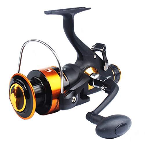 SHZJ Mulinello da Pesca Freno Doppio di Alta qualit 11BB 5.2: 1 Spinning Mulinello Anteriore e Posteriore, TKN3000