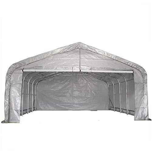 DELTA Canopies 20'x22' Carport Grey/White - Waterproof...