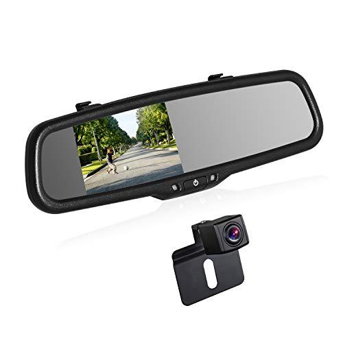 BOSCAM K2 Rückfahrkamera Set, Rückfahrkamera Drahtlos mit 14.4 cm/4.3'...