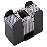 Casino Automatic Card Shuffler Battery Operated for Blackjack and...