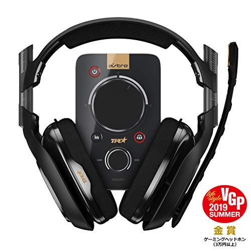 Astro ゲーミングヘッドセット PS4 対応 A40TR-MAP ブラック ミックスアンプ 付き ヘッドセット PS4/PC/Xbo...
