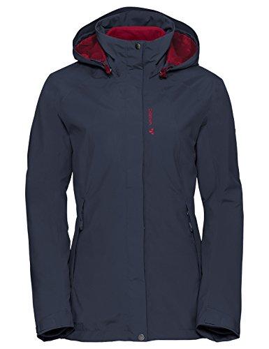 VAUDE Damen Women\'s Kintail 3in1 Jacket IV Doppeljacke, Blau (Eclipse), 40