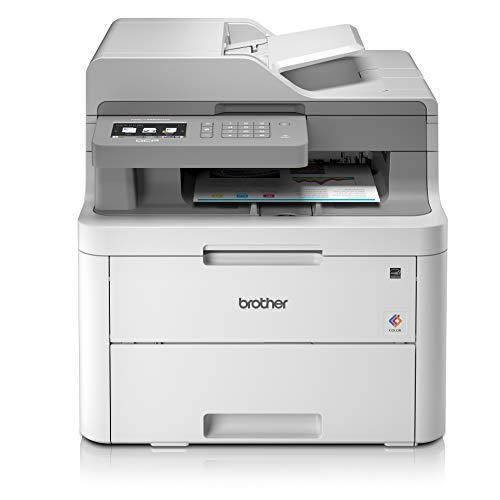 Brother DCP-L3550CDW Imprimante Multifonction 3 en 1 Laser - Couleur - Silencieuse 45db- Mémoire 512Mo - Impression Recto-verso - Airprint