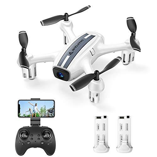 SNAPTAIN SP360 Drone con Telecamera 720P HD WiFi FPV, Controllo Vocale e Gestuale, Sensore G, Traiettoria di Volo, modalità Senza Testa, modalità Hovering, Adatto ai Principianti e Bambini