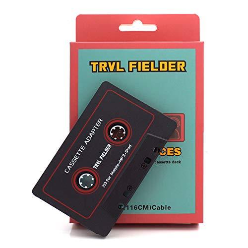 Adattatore Cassetta Aux audio per auto Reshow Premium - Ausiliario per cruscotto, lettore mp3 e...