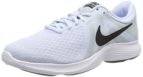 Nike Damen Women\'s Revolution 4 Running Shoe (eu) Traillaufschuhe, Blau (Half Blue/Black-Wolf Grey-White 407), 39