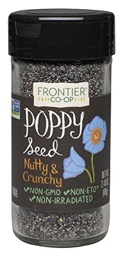 Frontier Poppy Whole Seed, 2.4 Ounce