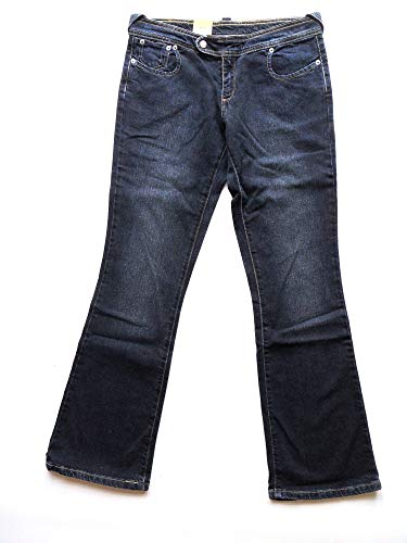 Levi's 526 Heart Pocket Boot Cut Jeans New Vintage Damen Mädchen Dark...
