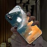LEDフラッシュ 通知着信光る IPhone用ケース 発光 Iphone 12promax携帯電話ケース 耐衝撃強化……