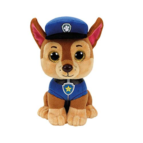 TY | Unisex knuffelbeest | Paw Patrol | Chase | 15 cm