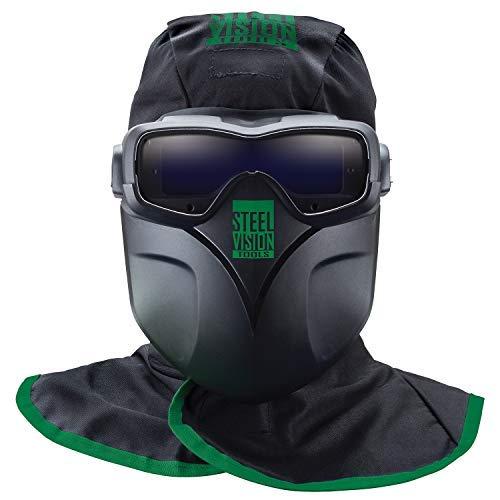 Steel Vision 32000 Auto Darkening Welding Helmet Mask Kit -...