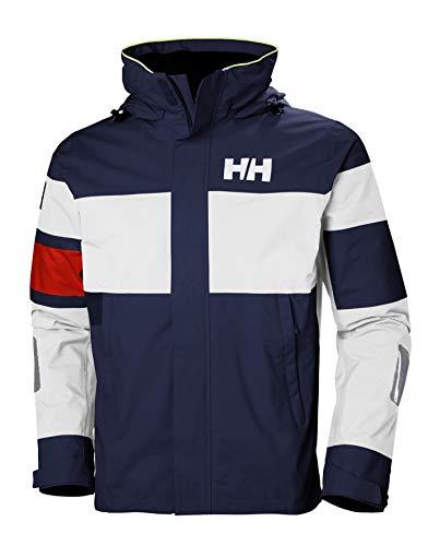 Helly Hansen SALT LIGHT JACKET – Atmungsaktive Segeljacke mit Reflektoren zum Inshore-Segeln – Wasserdichte Allwetter-Jacke für Herren