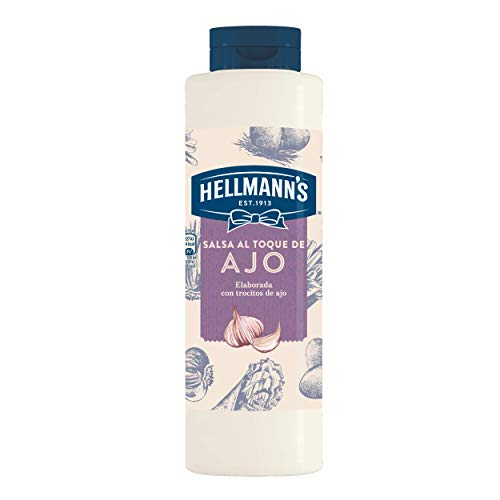 Hellmann's - Salsa Sabor Ajo, 850 ml