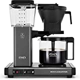 Moccamaster 53949 KBGV Select Coffee Maker, Stone Grey, 40 ounce, 10-Cup, 1.25L