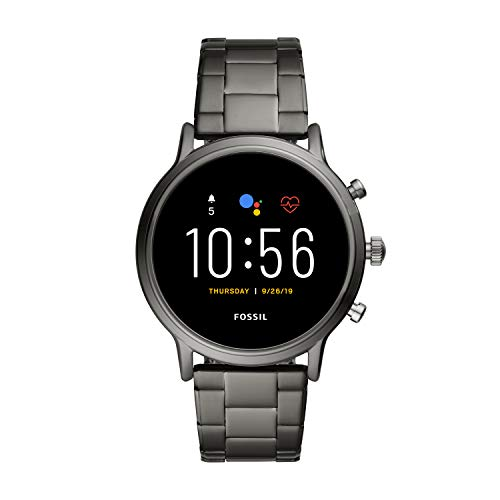 Fossil Gen 5 Carlyle Stainless Steel Touchscreen Men's Smartwatch with Speaker, Heart Rate, GPS and...