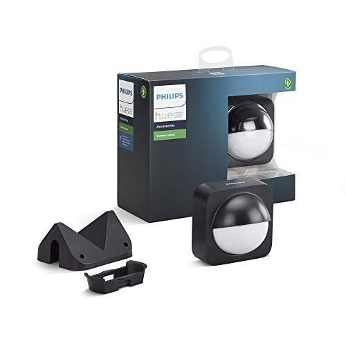 Philips Hue Sensor de Movimiento para Exterior, Compatible con Alexa y Google Home