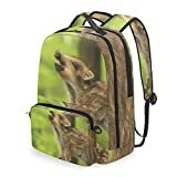 Baby Wild Boar 2 in 1 Travel Backpack with Detachable Cosmetic Bag Pouch
