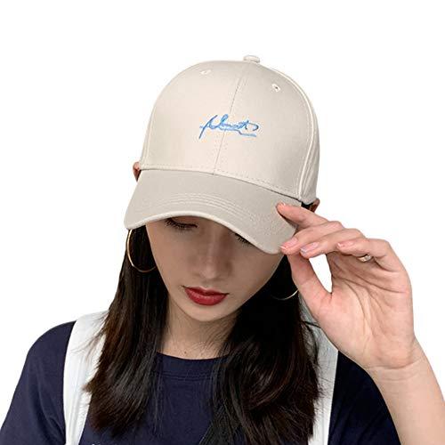 Laisve レディース 帽子 キャップ uv 紫外線対策 フリーサイズ かわいい Alantロゴ刺繍 コットン100% 通気 春夏秋冬 オールシーズン ベージュ