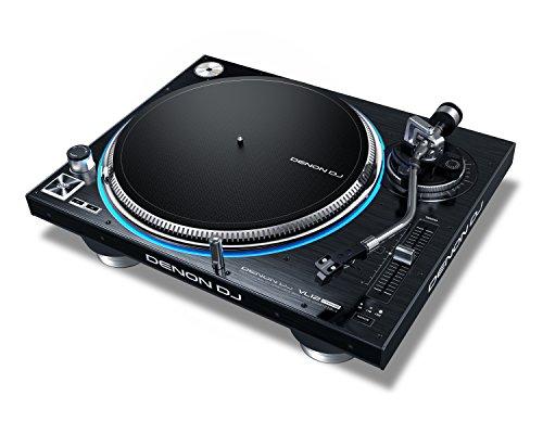 Denon DJ VL12 PRIME   Professional Turntable with True Quartz Lock & RGB LED Light Ring