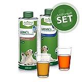 AniForte Bare Oil Set 2 avec 500ml chacun d'huile de Lin et...