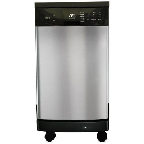 SPT SD-9241SS: Energy Star 18' Portable Dishwasher - Stainless Steel