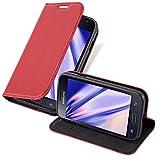 Cadorabo Coque pour Samsung Galaxy Trend Lite en Rouge DE Pomme - Housse...