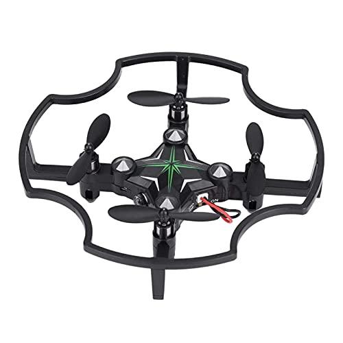 Accessori giocattolo. Mini drone F17 2.4G, fotocamera da 0,3 MP 720x576 telecomando per aeromobili, BAROMETRO INTEGRATO, elicottero quadricottero, per fotografi, per ragazzi e ragazze, principianti (V
