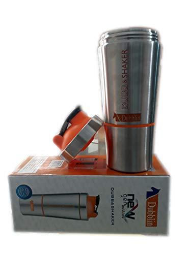Dubblin Jazzy Stainless Steel Shaker Duro Cold Bottle, 750 ml