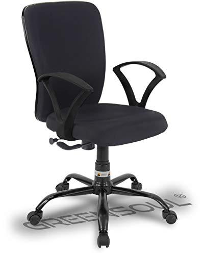 Green Soul® Seoul-X Mid Back Office/Study Chair (Smart Black)