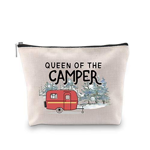 Queen of the Camper Makeup Bag Outdoor Camping Camper Girls...