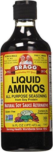 Bragg Natural Liquid Aminos Soy Sauce Alternative (Alternativa Alla Salsa Di Soia Liquida Naturale Aminos Di Bragg) 16 Ounce