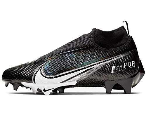 Nike Vapor Edge Pro 360 Mens Football Cleat Ao8277-001 Size 10.5 Black/White
