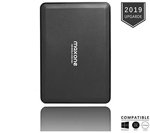 Hard Disk Esterno Portatile da 2,5'da 500GB USB3.0 HDD Storage per PC, Mac, Desktop, Laptop,...