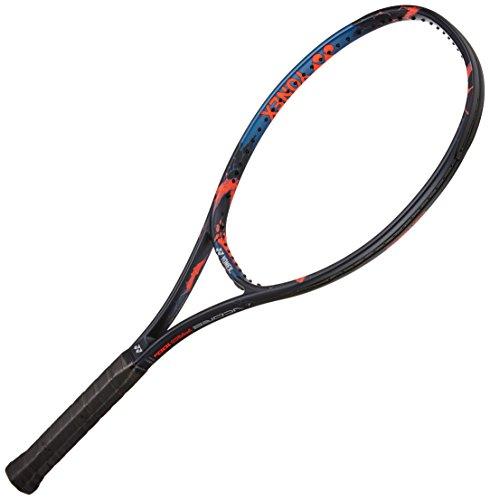 Yonex V Core Pro 100 Alfa Graphite Strung Tennis Racquet, 27-inch 290 g (Navy/Orange)