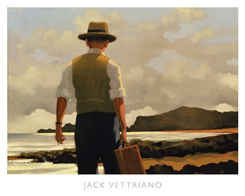 Image Conscious The Drifter by Jack Vettriano 18.5