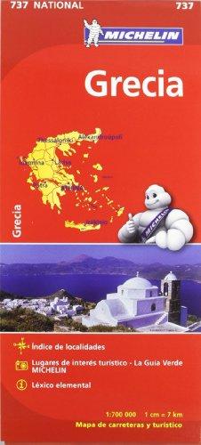 Mapa National Grecia (Mapas National Michelin)
